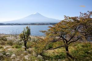 10月の富士山