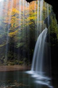 秋の鍋ヶ滝