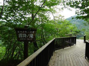 霧降の滝観瀑台