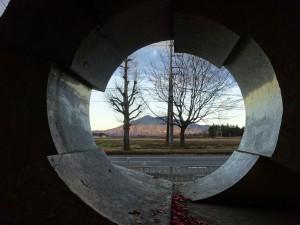石の望遠鏡