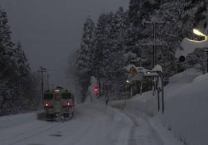 高山本線豪雪地帯2