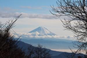 まきば公園よりの富士山