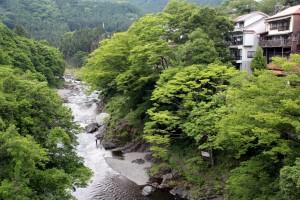 新緑の御嶽渓谷③