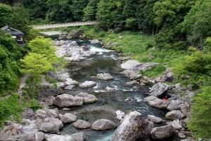 新緑の御嶽渓谷②