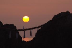 福岡県糸島市二見ヶ浦の夫婦岩