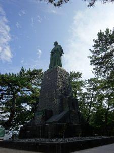 桂浜の坂本竜馬像